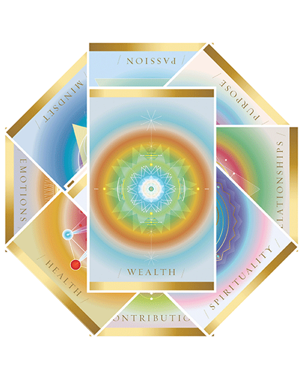 The Activating Abundance Visual Activator Cards